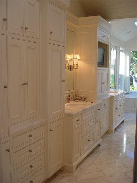 Built In Bathroom Cabinet Ideas » New Home Design