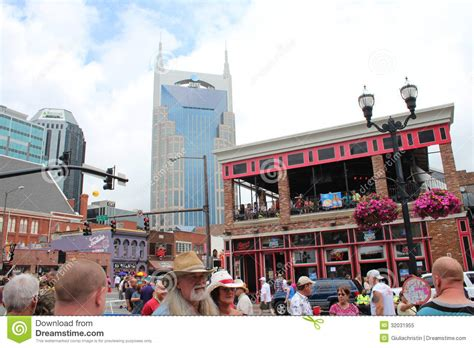 country music events nashville broadway in nashville tennessee editorial image image