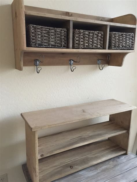 trees with bench and coat racks rustic tree primitive bench and coat rack entry way