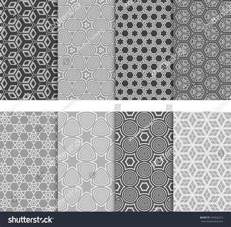 modern pattern vector ai seamless decorative modern geometric patterns set stock
