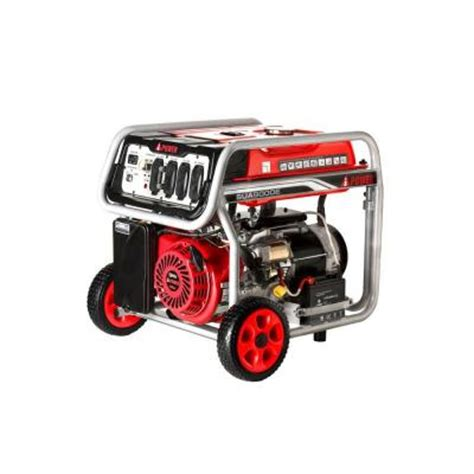 a ipower 9000 watt electric start gasoline powered