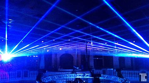 laser light show production laser effects services tlc
