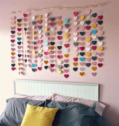 desain hiasan dinding kamar dari kertas gambar hiasan dinding kamar tidur yang unik dan kreatif