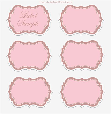 label template wedding wednesday diy printable vintage collection