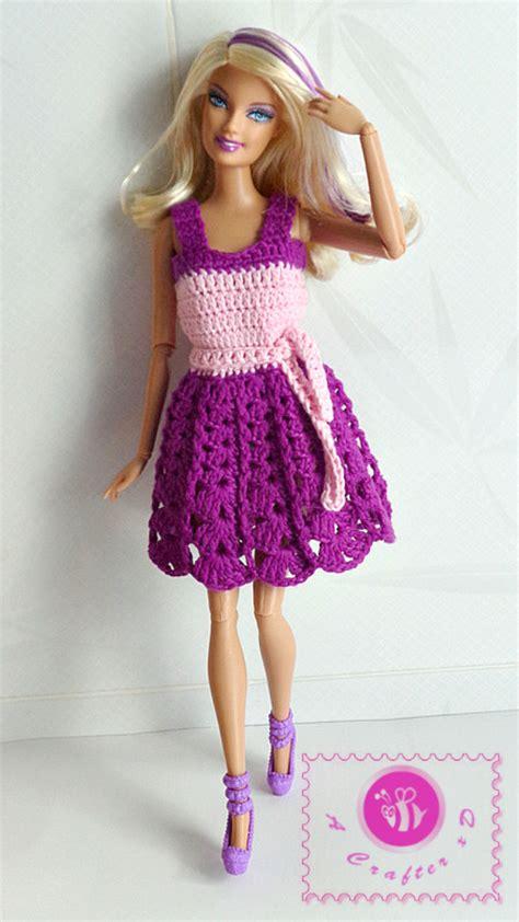 fashion doll dress patterns crochet fashion doll tank dress maz kwok s designs