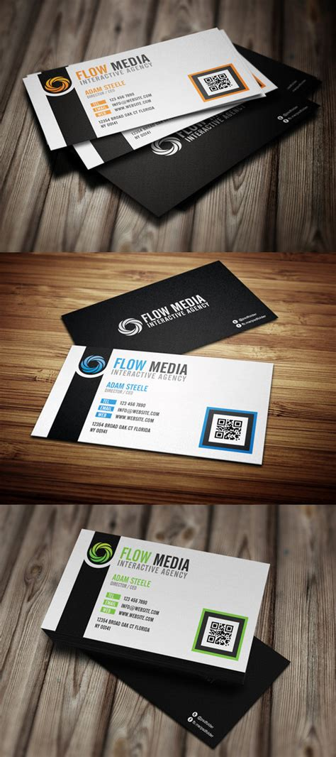 business card haircolor psd free psd flow business cards in 3 colors by thearslan