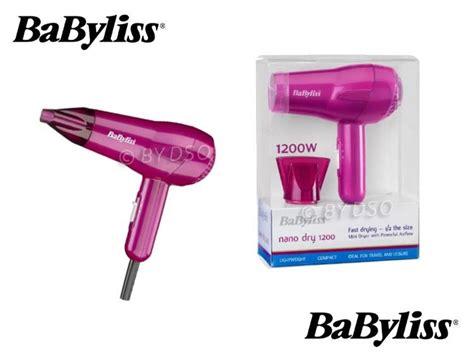 Babyliss Hair Dryer Mini babyliss travel 1200w hair dryer multi voltage compact ebay