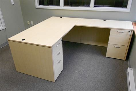 Office Desk L Shape L Shaped Office Desk New Used Desk The Office Manager Inc
