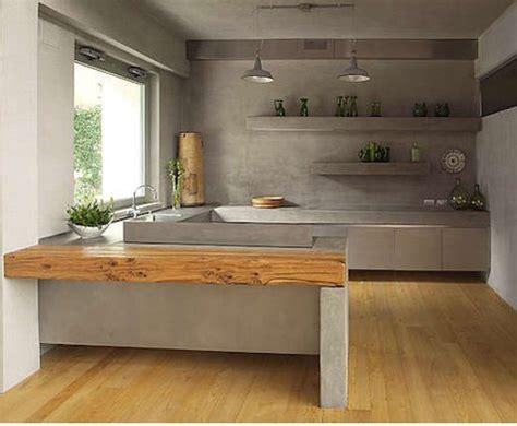 cocinas materiales cocinas de cemento 20 ideas y fotos