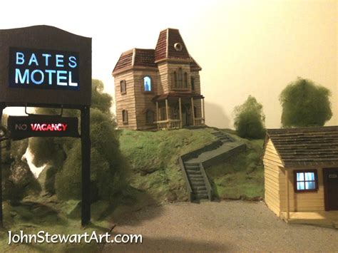 Bates Motel House by Horror Houses Stewart