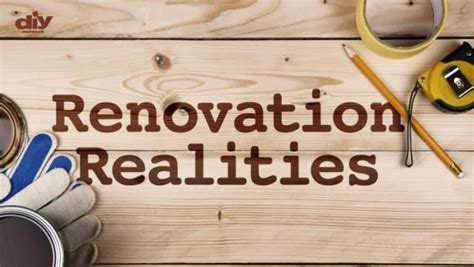 Diy Renovation Sweepstakes - renovation realities diy