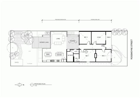 syndicate house plan contemporary aesthetic blending with traditional layers thornbury house by micle