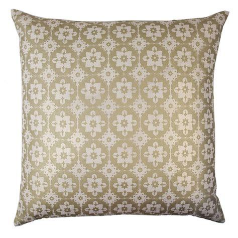 Small Decorative Pillow by Kevin O Brien Studio Small Moroccan Metallic Linen
