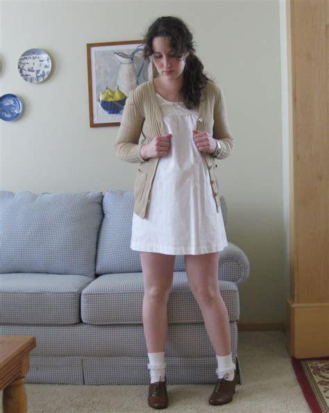 Bt10061 White Sabrina Yuka Blouse knee socks school images