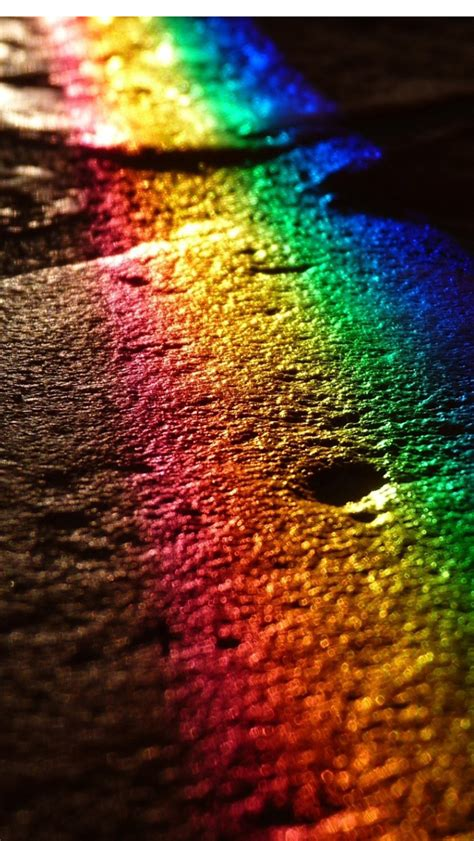 rainbow colors iphone  hd wallpapers