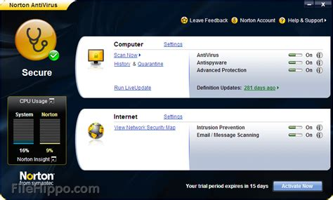 symantec antivirus full version free download for windows 7 windows xp service pack 3 download norton antivirus free