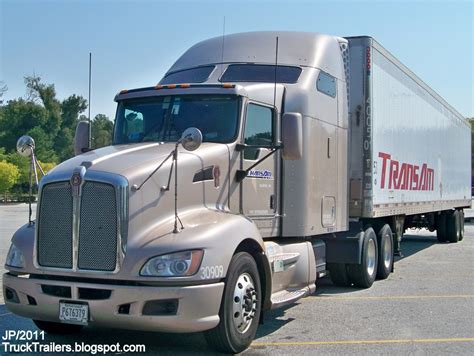 trucker to trucker kenworth truck trailer transport express freight logistic diesel
