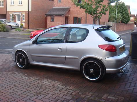 peugeot 206 steel wheels 2000 peugeot 206 grand tourisme gt special edition sold
