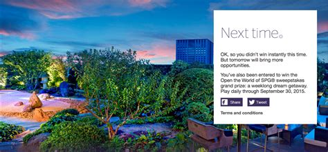 Starwood Gift Cards - win free night awards starpoints amazon gift cards from starwood