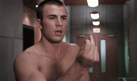 x files bear actor flame on indeed chris evans shirtless movie gifs