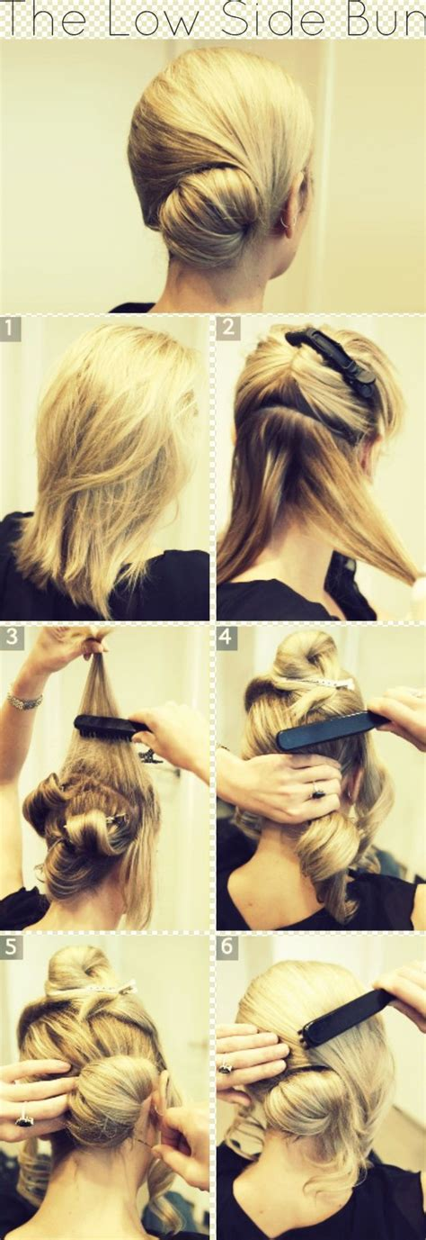 side updo tutorials 10 side bun tutorials low messy and braids best 25 low side buns ideas on pinterest low side
