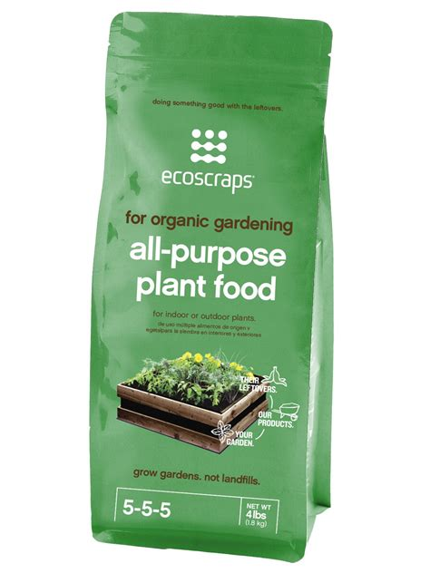 all natural flower food ecoscraps ecoscraps natural organic all purpose plant food