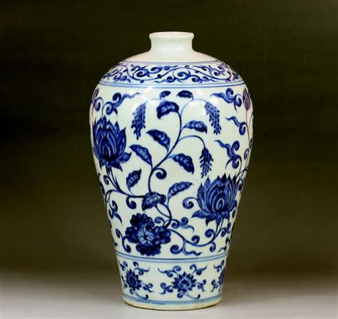 Ming Dynasty Vase Value ming dynasty blue and white porcelain plum vase for sale antiques classifieds