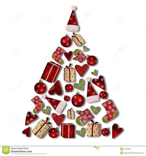 collage 193 rbol de navidad stock de ilustraci 243 n imagen de
