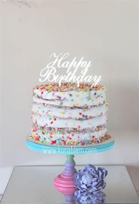 birthday cake naked cake funfetti cake confetti cake birthday cakes cake funfetti
