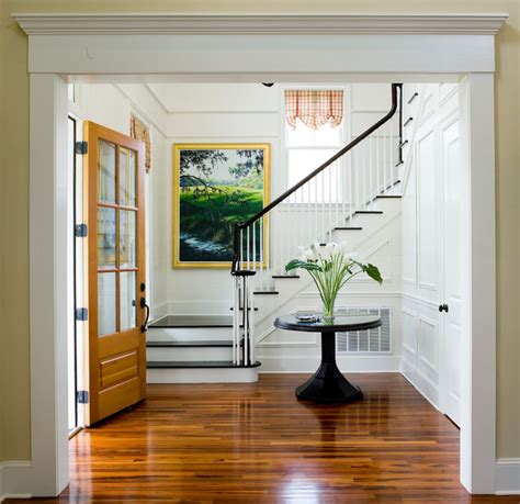 Cottage Entryway Eastover Cottage Traditional Entry Charleston By