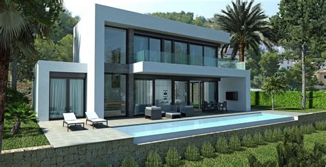 villa designs brand new designer villas built to order costa blanca spain