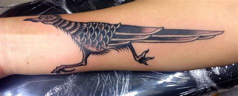 roadrunner tattoo my roadrunner traditional new mexico