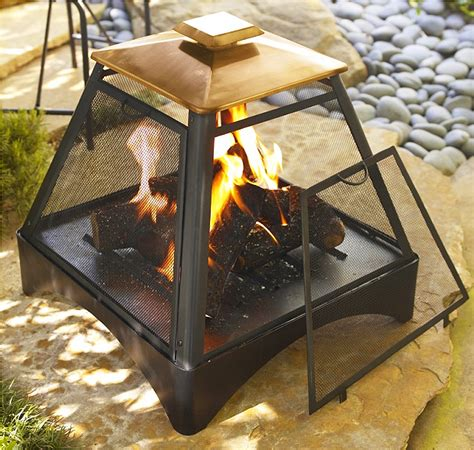 asia direct pagoda outdoor fireplace with copper roof