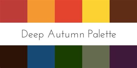 deep autumn color palette color for skin tone autumn 30 day sweater