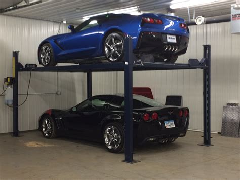 Garage Car Storage Lift by The Styles Of Mobile Car Lifts Eagle Equipment