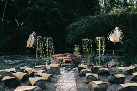 Not A Wedding Indah Muladiatin tropical bali wedding at bambu indah junebug weddings