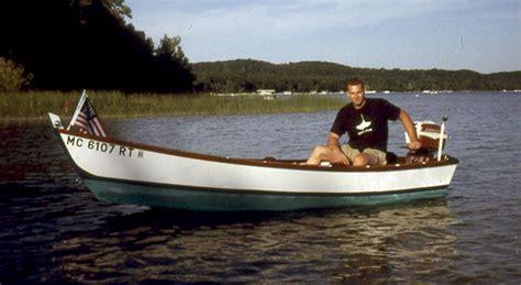 ken swan boats anishinabe woodenboat magazine
