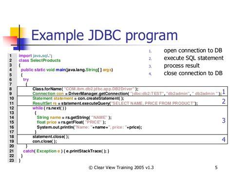 tutorial java database connectivity java arlow jdbc tutorial java programming tutorials
