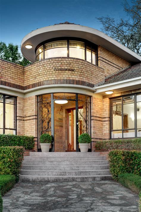 the art house historical architectural style the art deco waterfall house glamour drops