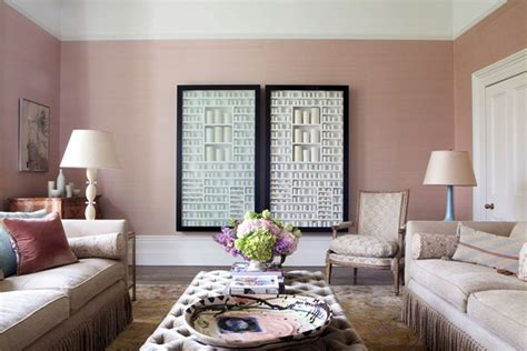 Pink Living Room pink living room wall paint colour ideas houseandgarden