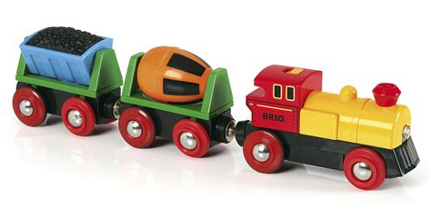brio company battery operated action train brio