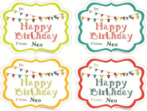 How To Stick Wall Stickers it s for you gift sticker happy birthday banner