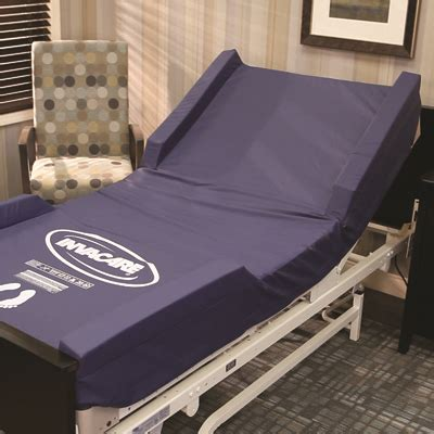 invacare  raised bolster mattress cover express hospital beds