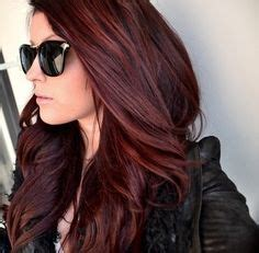brown hair with the red tent to it and blonde highlights chocolate red hair on pinterest red blonde red blonde