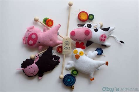 Handmade Mobiles For Babies - 161 best images about felt baby mobiles 183 handmade crib