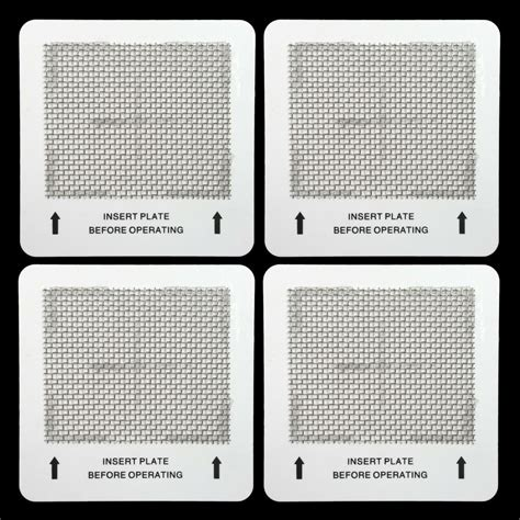 4 ozone plates for alpine ecoquest vollara living air purifiers aaa quality ebay
