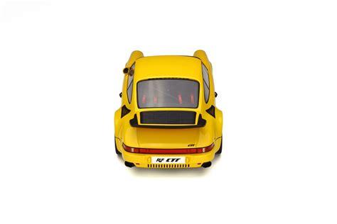 porsche yellow bird ruf ctr yellow bird model car collection gt spirit