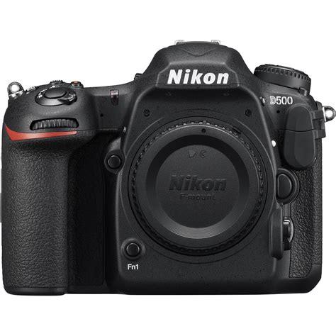 nikon d500 dslr only refurbished 1559b b h photo