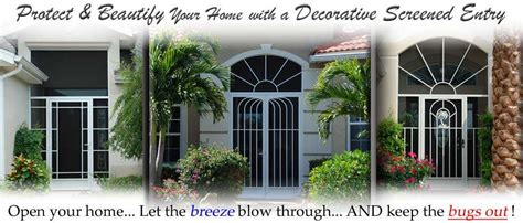 Exterior Doors Orlando Front Entry Doors Orlando Fl Screen Doors Decorative Custom Aluminum
