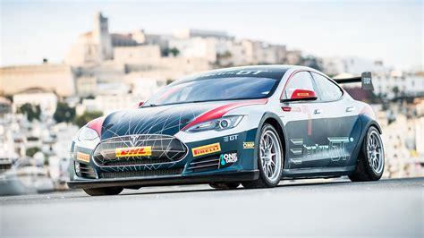 Tesla Racing Car Tesla Model S Electric Gt Race Series Announced